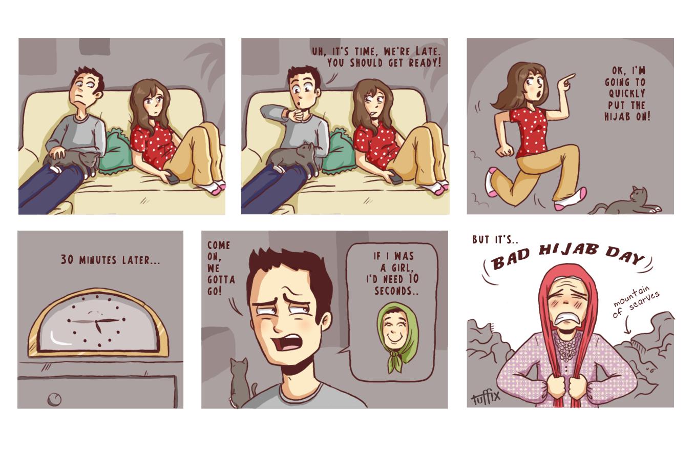 24 Bad Hijab Day_by tuffix